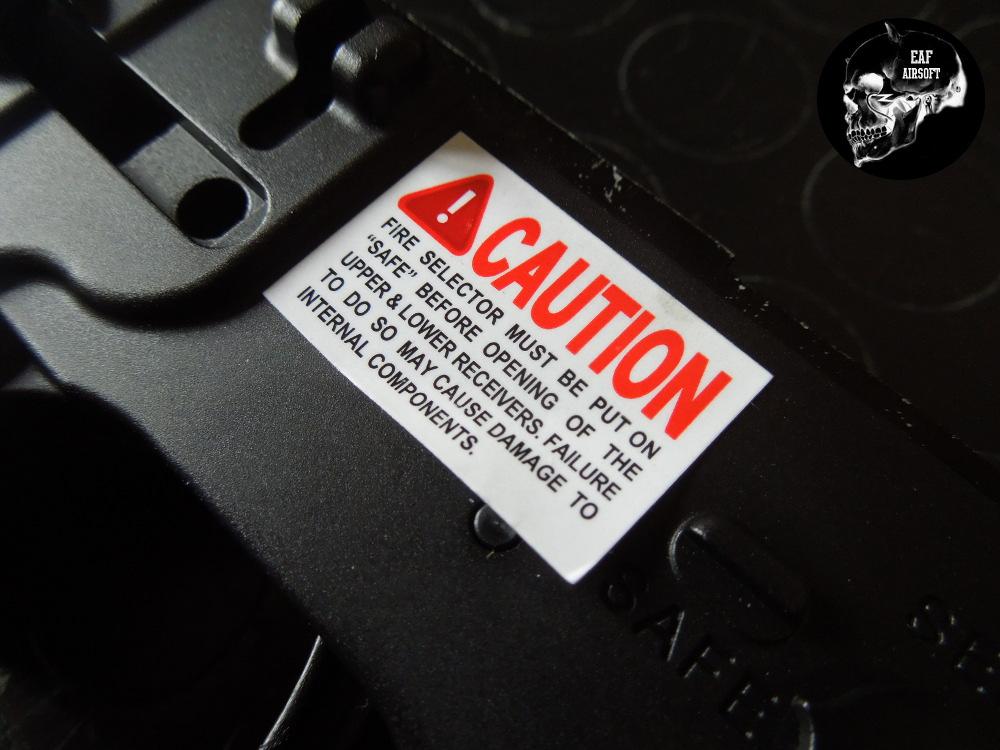 WE Katana M4A1 Ris adesivo
