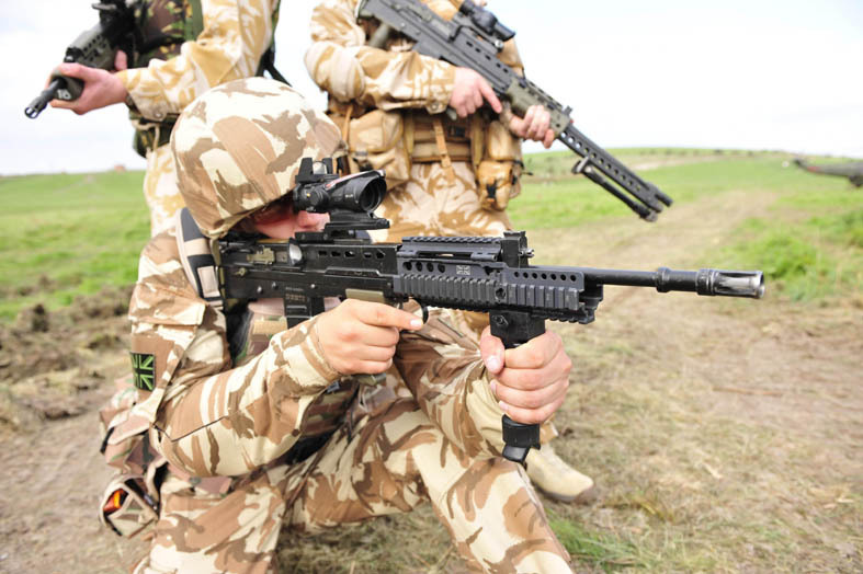 Army unveils hi-tech military might