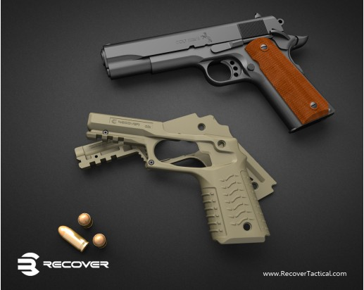 Recover_Tactical_RT_CC3_1911_Grip_and_Rail_Adapter_for_Tactical_1911_Pistol_4