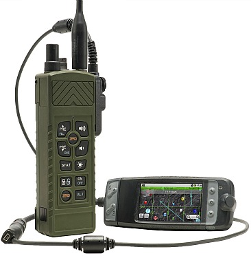 Tactical handheld radio