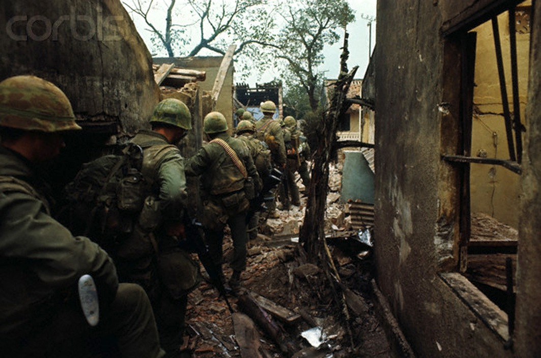 US Marines During House to House Fighting