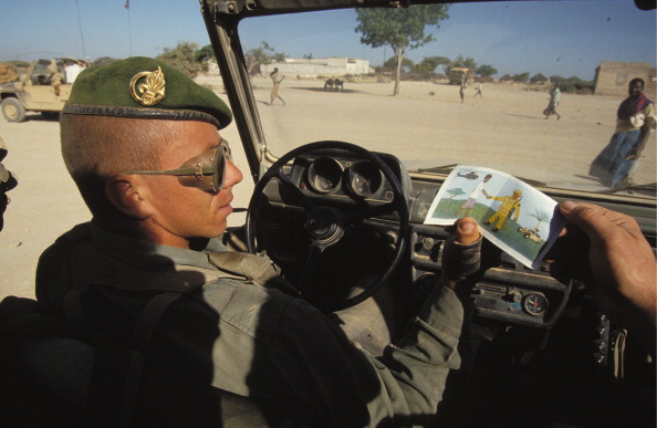 'Restore Hope': The Foreign Legion At Ethiopian Border On January, 1993