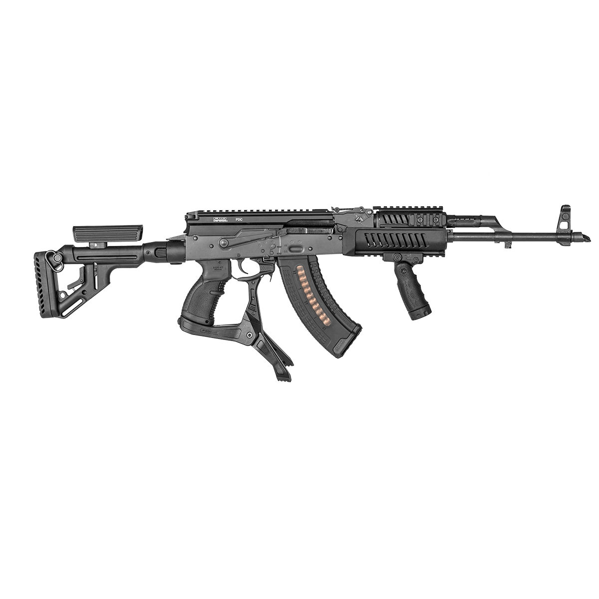 FAB-Defense-AK-47-AKM-Quick-Deploy-Podium-Bipod-Pistol-Grip-rifle-3